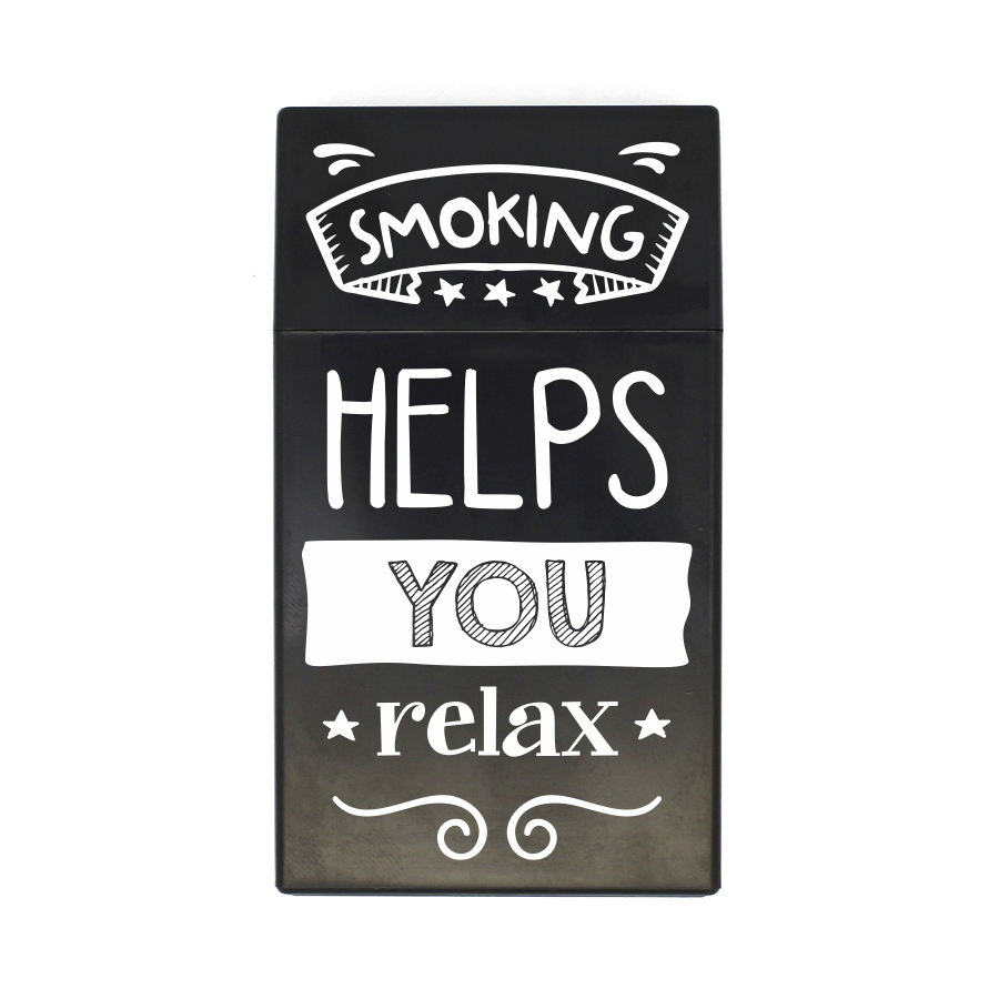 35 Smoking helps you relax