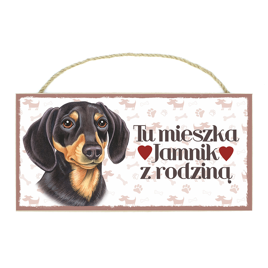 21 Jamnik Czarno-Brązowy