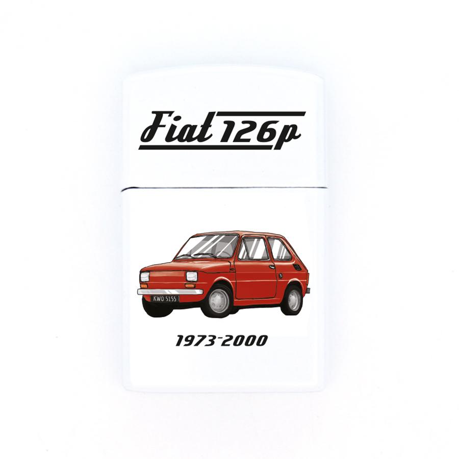 01 Fiat 126p (czerwony)