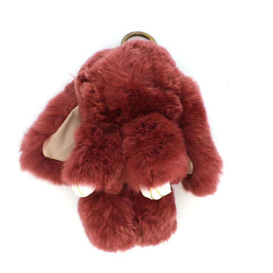 01 brelok królik rudy