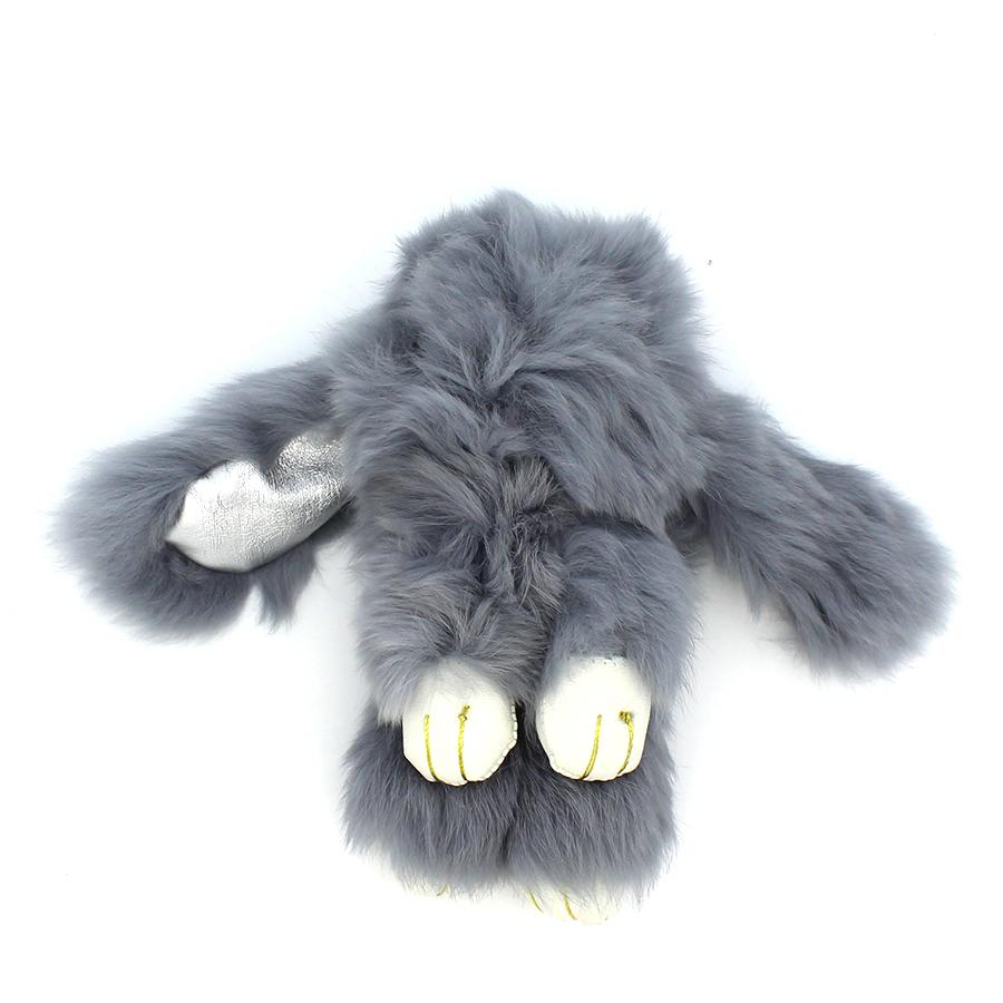 04 brelok królik szary